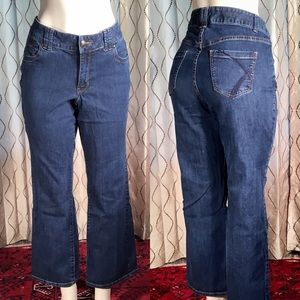 Lane Bryant Bootcut Denim Jeans Stretch Plus 14P